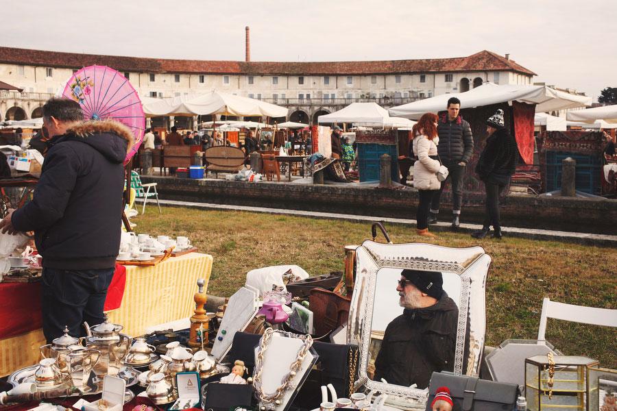 Piazzola sul Brenta antique market | Freckle & Fair