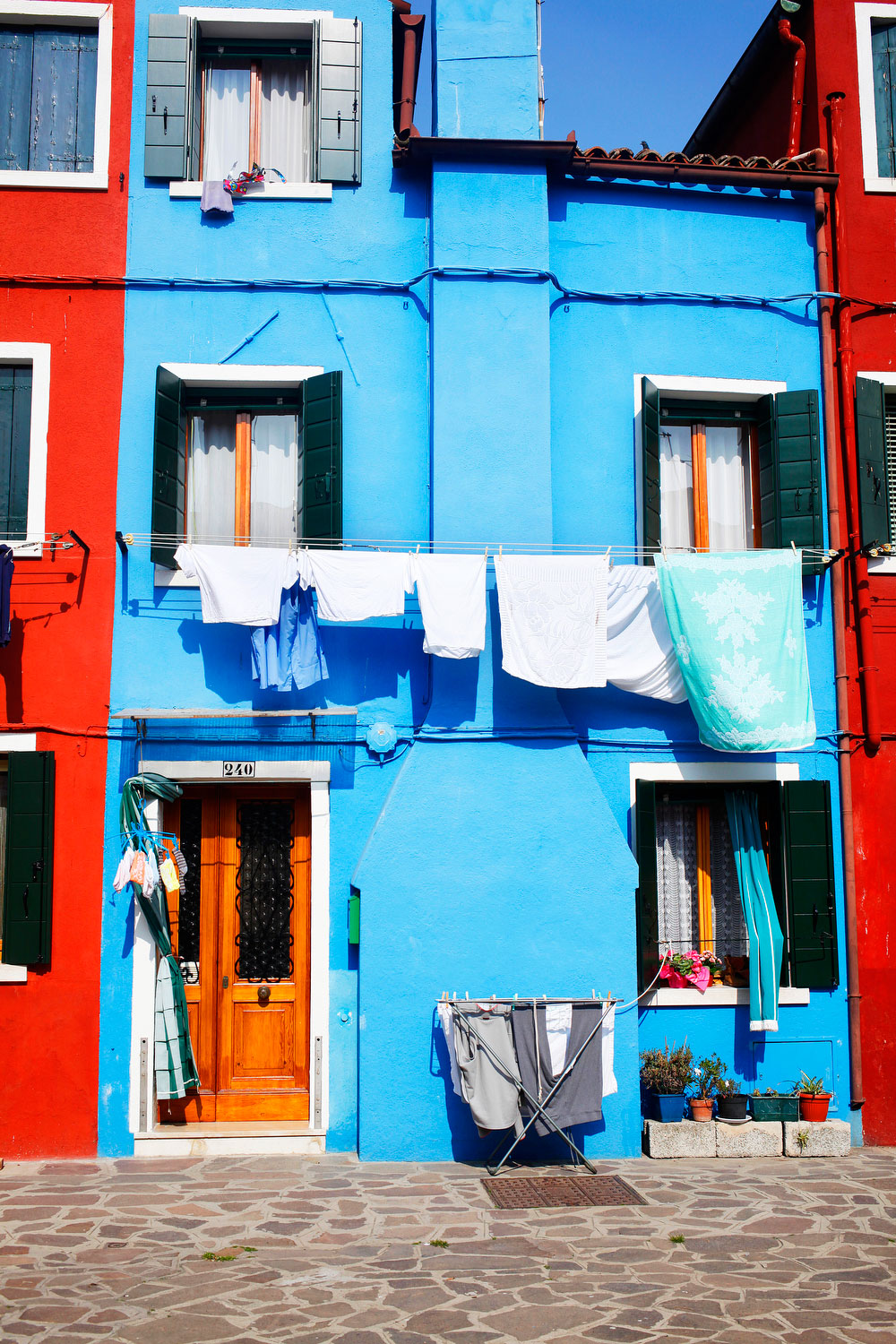 Colorful houses in Burano, Italy | Freckle & Fair