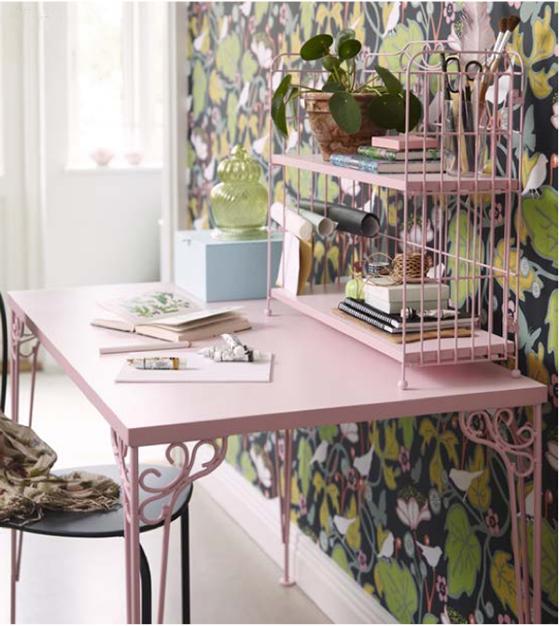 FALKHÖJDEN desk from Ikea via Poppytalk | Freckle & Fair