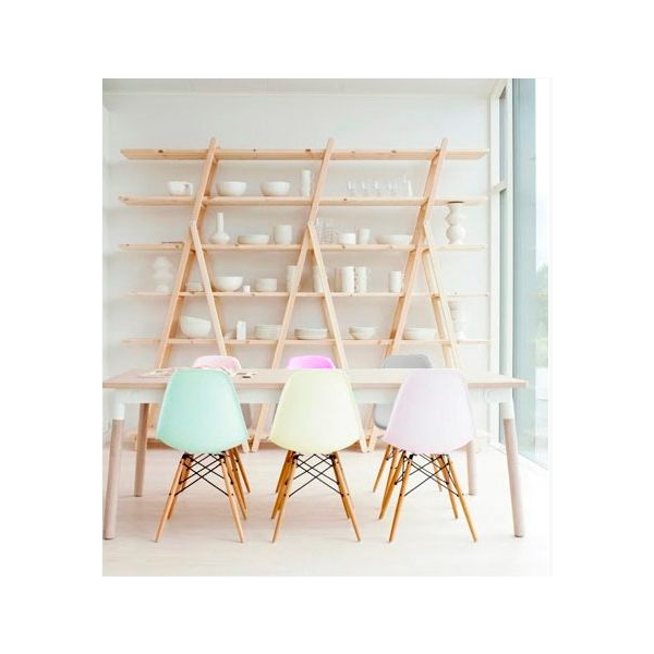 Pastel Eames chairs from Cult Furniture | Freckle & Fair