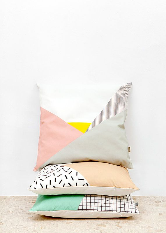 Pastel pillow cover by Depeapa | Freckle & Fair