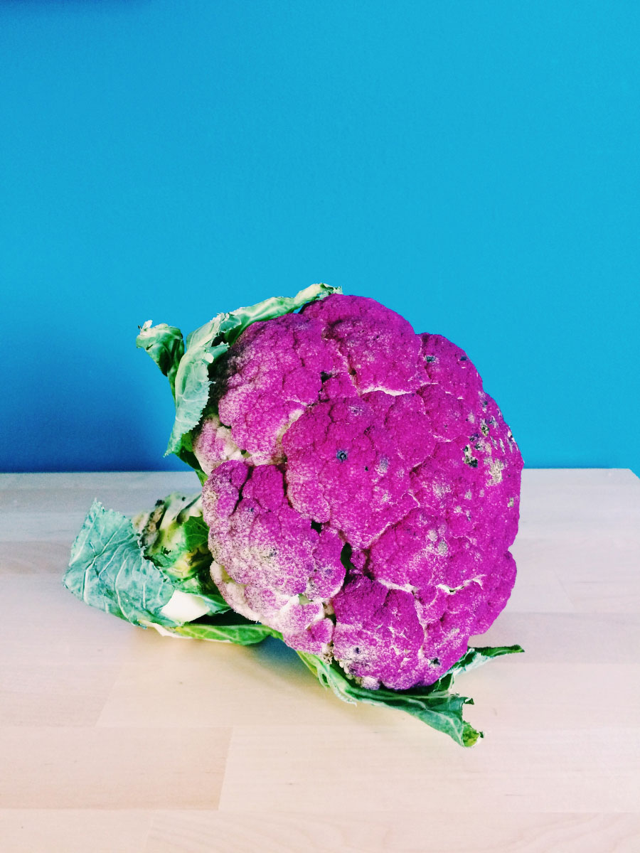 Purple cauliflower | Freckle & Fair Whole 30 recipe round-up