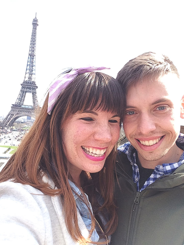 The Eiffel Tower | Freckle & Fair