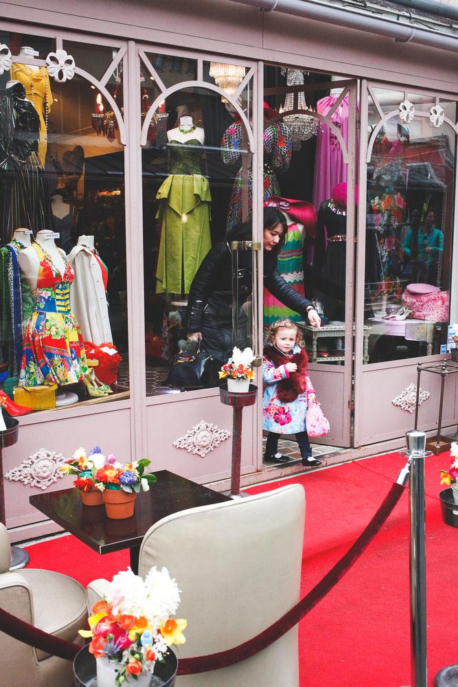 Clothing store in Marché aux puces de Saint-Ouen | Freckle & Fair