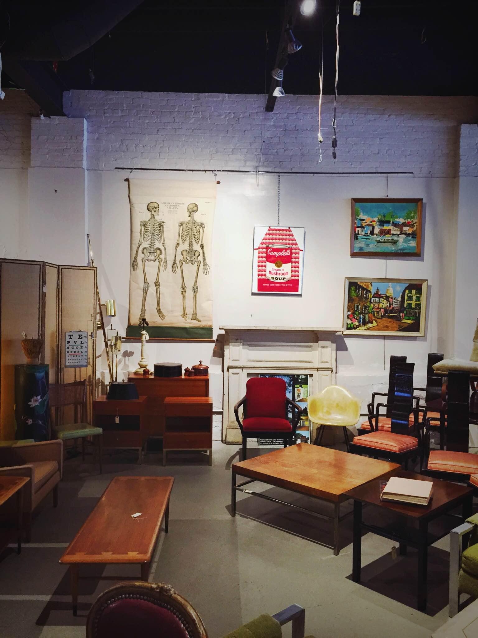 Antiques shop in Hudson, NY | Freckle & Fair