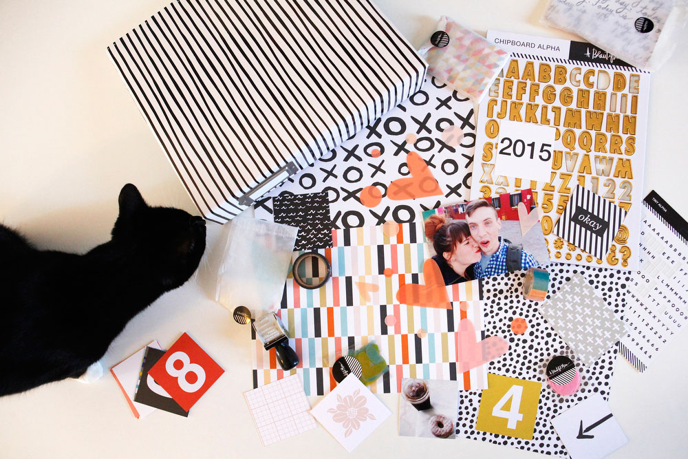 A Beautiful Mess's Messy Box Scrapbooking | Freckle & Fair