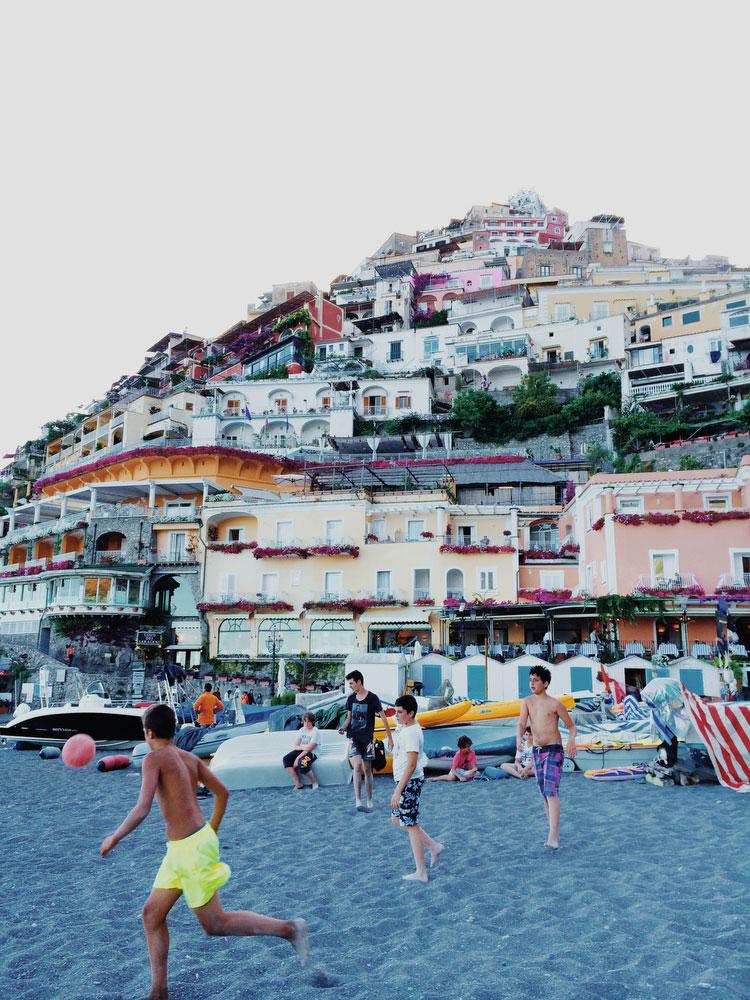Positano, Italy on the Amalfi Coast | Freckle & Fair