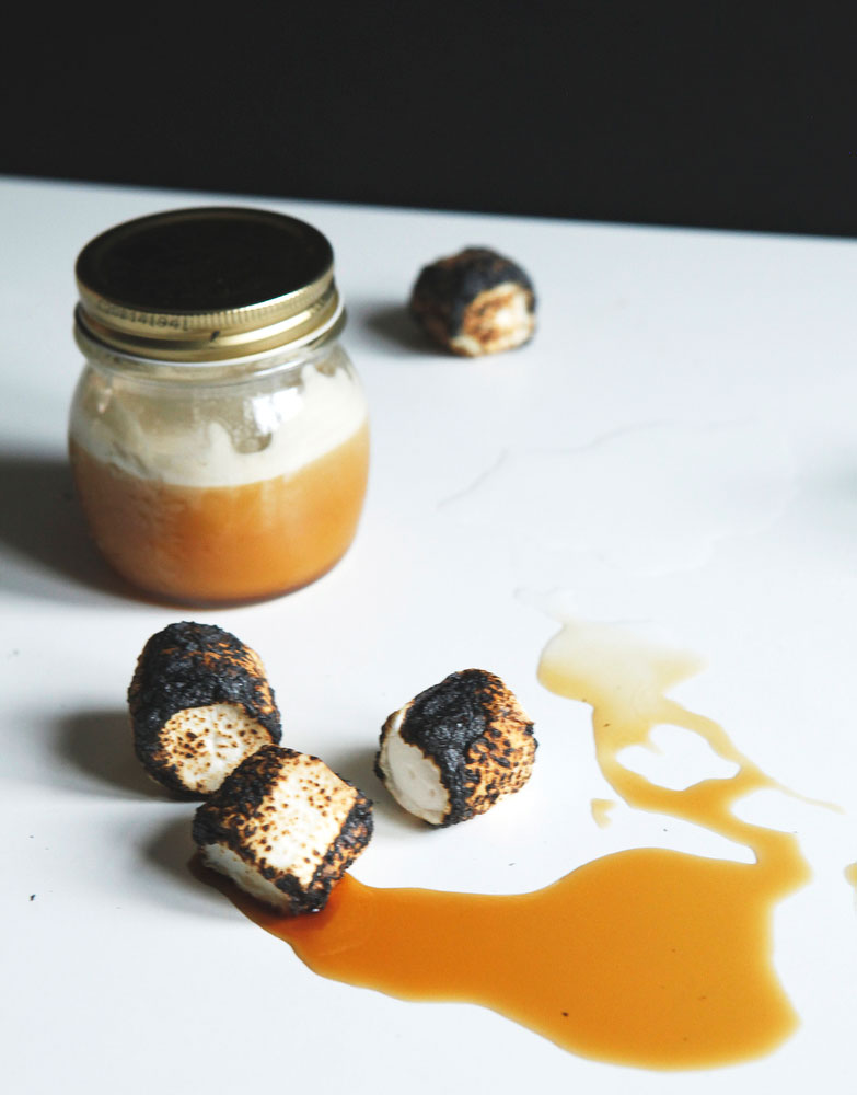 Toasted marshmallow simple syrup | Freckle & Fair