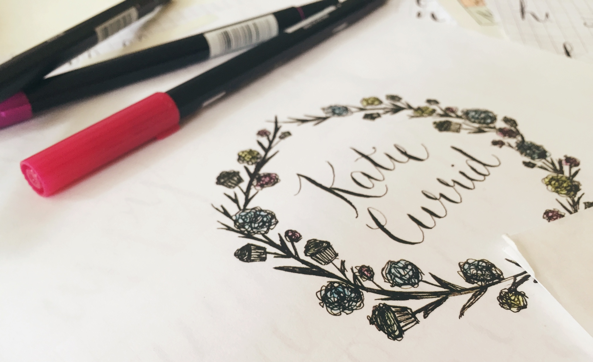 Calligraphy & Lettering: A primer for beginners | Freckle & Fair
