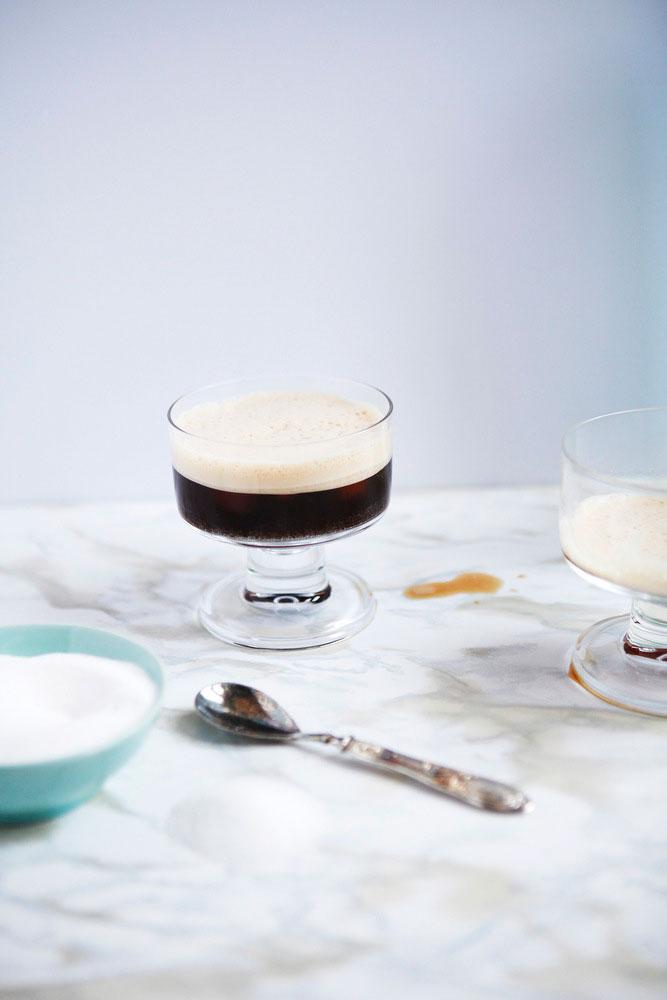Italian shaken iced coffee: Caffe shakerato | Freckle & Fair