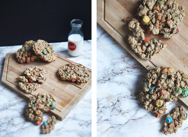 Peanut butter monster cookies | Freckle & Fair