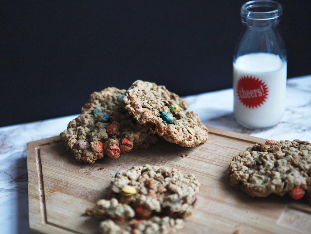 Monster cookies | Freckle & Fair