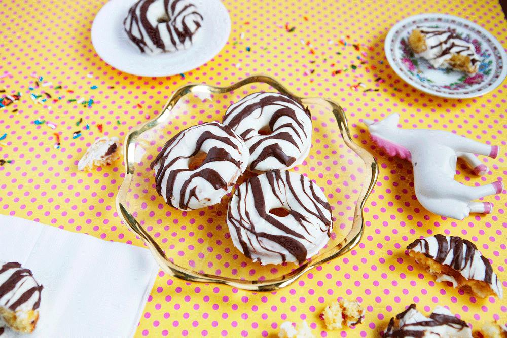 Zebra Cake donuts | Freckle & Fair