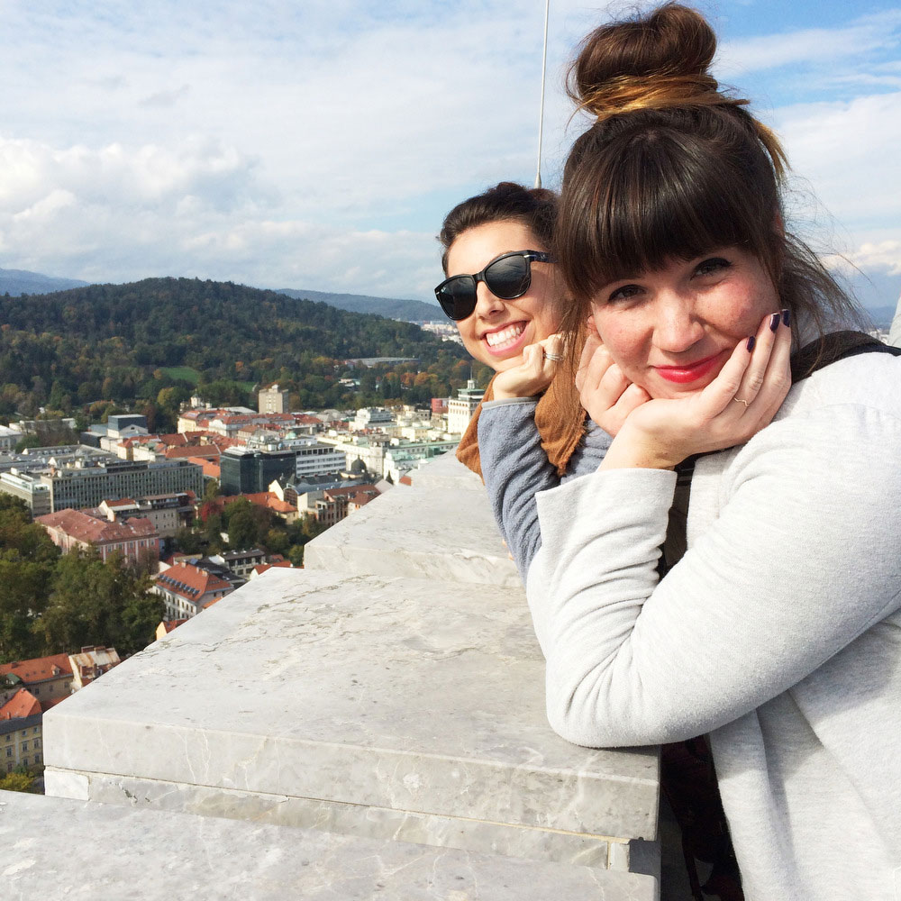 A day in Ljubljana, Slovenia | Freckle & Fair