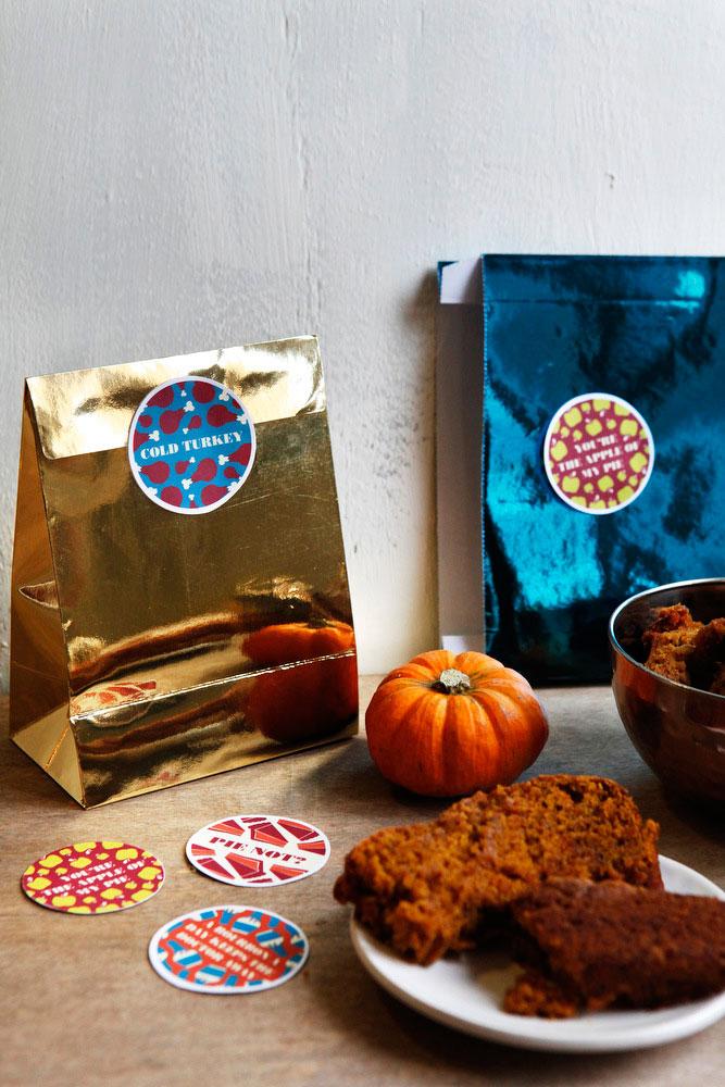 Thanksgiving leftover labels | freckleandfair.com