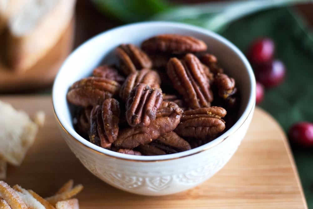 Curried brown sugar pecans | Freckle & Fair