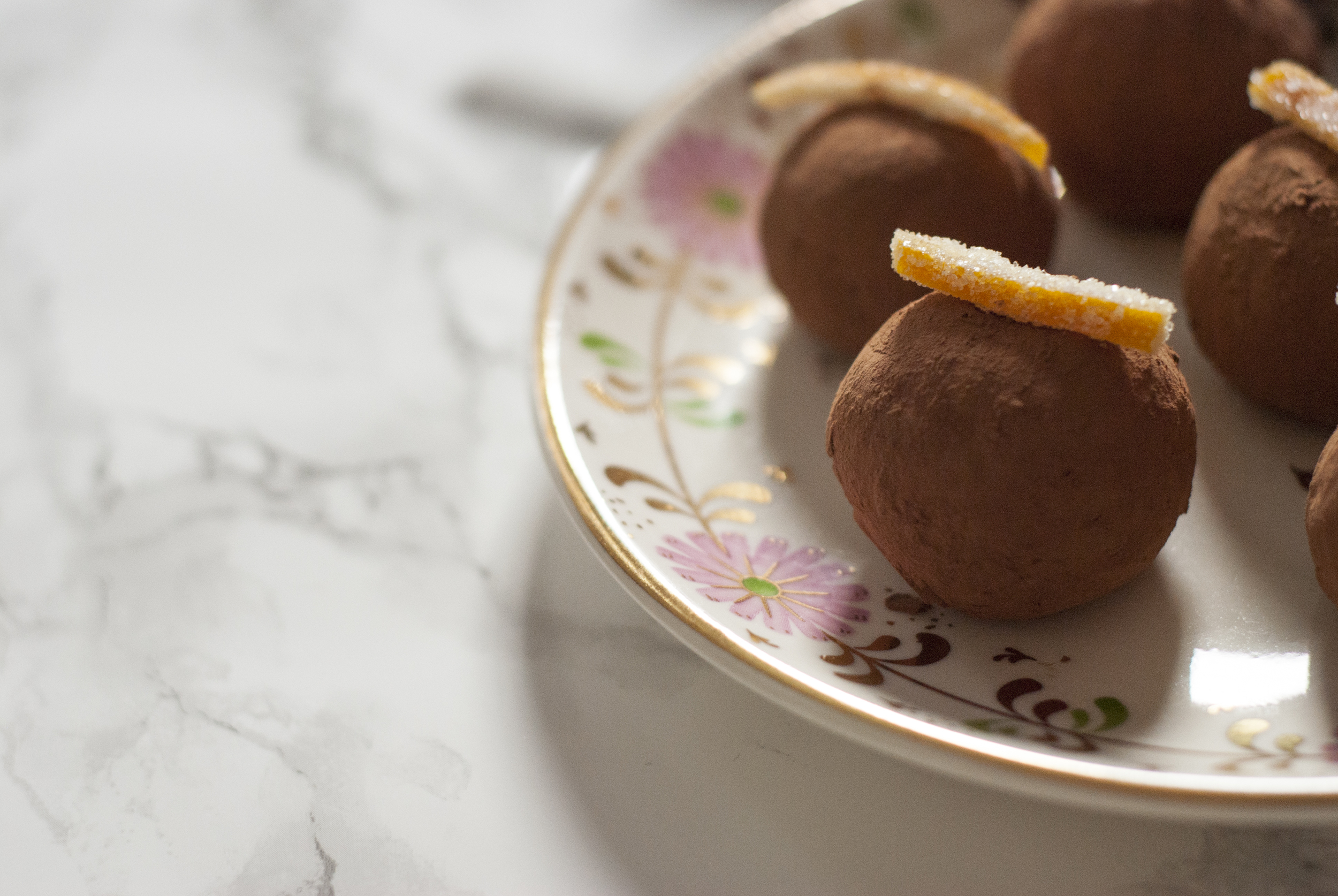 Old-Fashioned Whiskey Truffles | Freckle & Fair