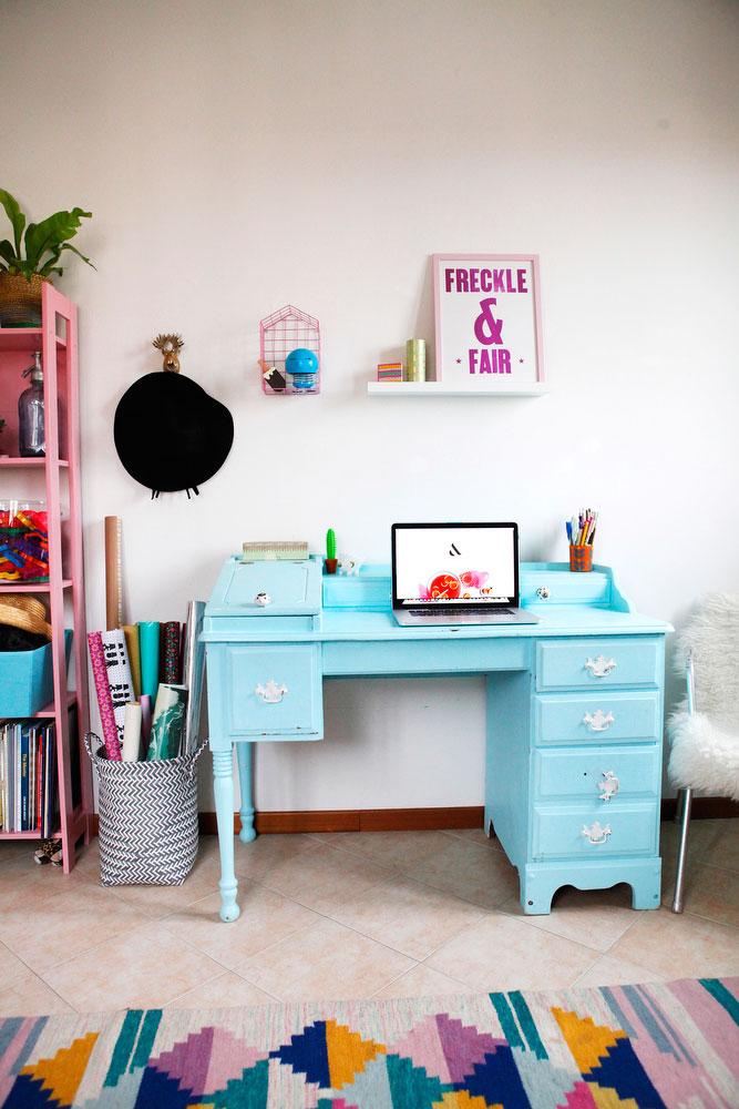 Pantone-inspired office space