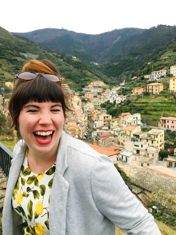 Riomaggiore in Cinque Terre, Italy | freckleandfair.com