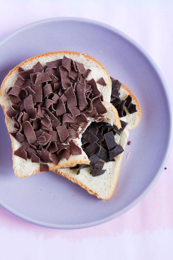 Hagelslag, or Dutch sprinkle bread | freckleandfair.com