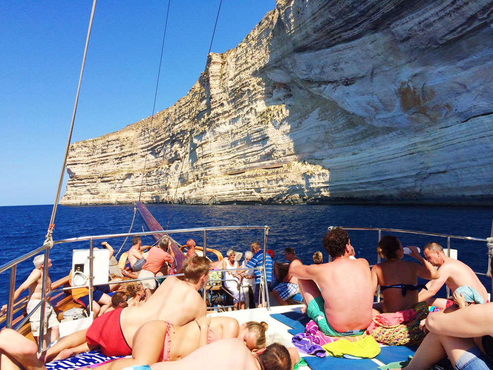 Cruise to the Blue Lagoon in Malta | freckleandfair.com