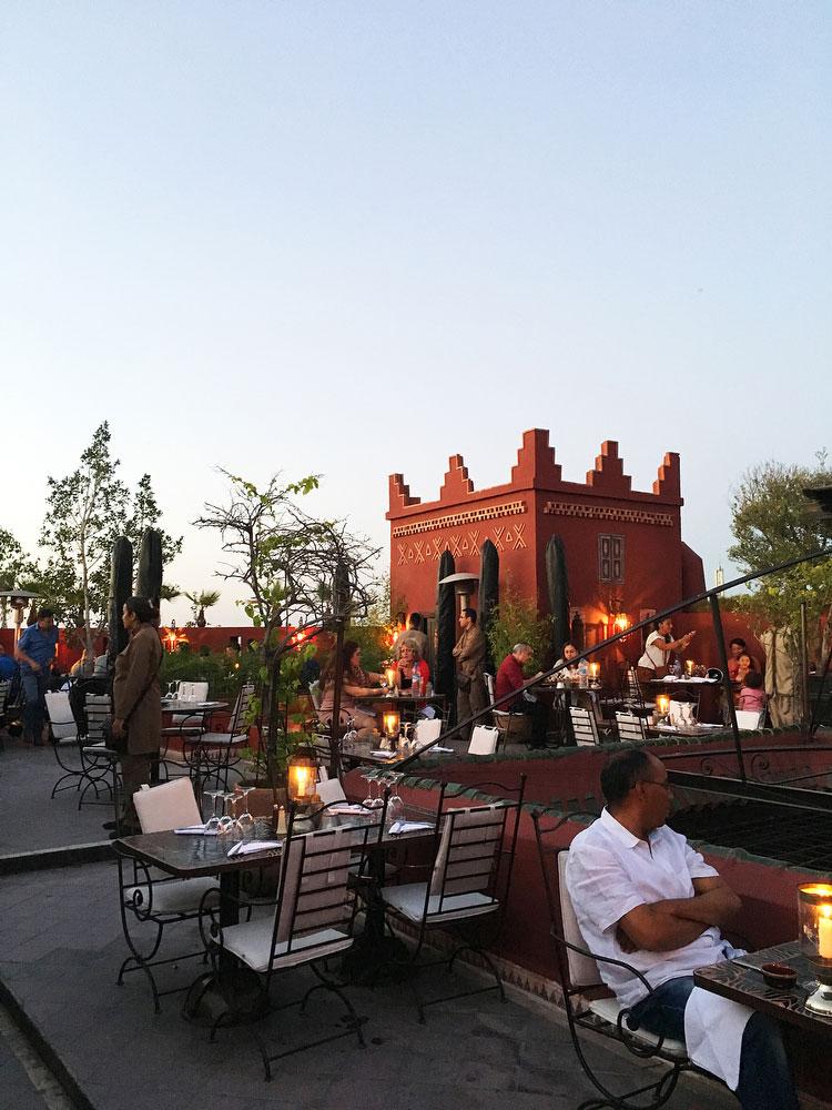 Le Fondouk restaurant