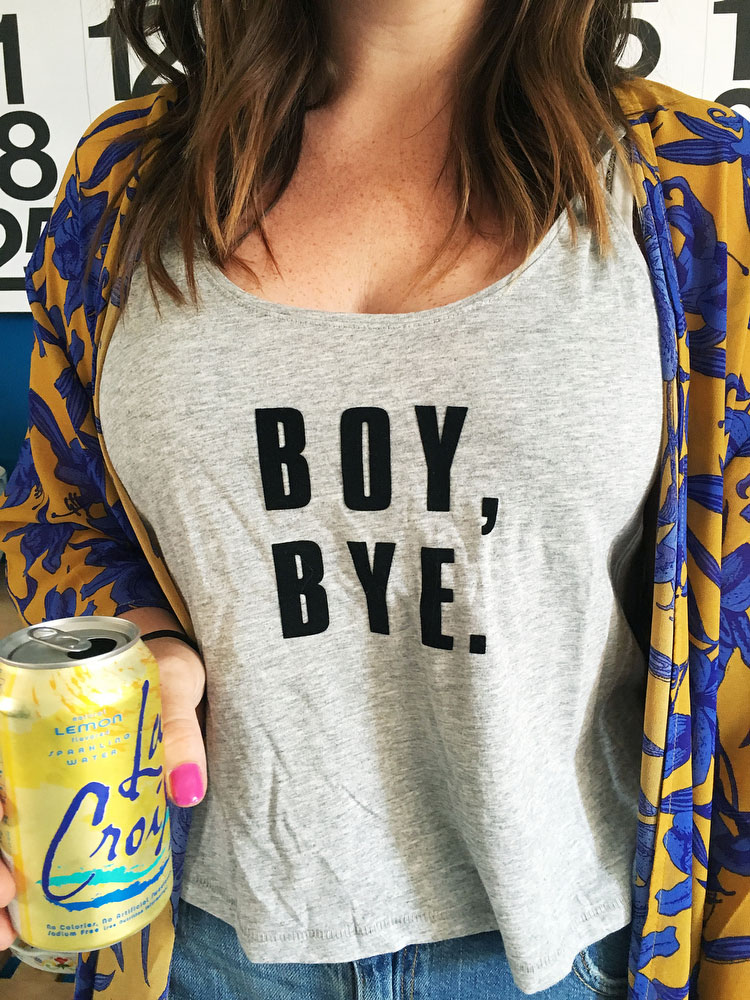 DIY Beyonce graphic tees (they're iron-on!) | freckleandfair.com