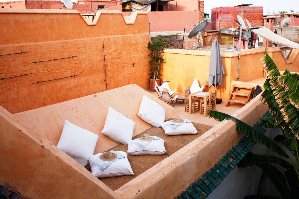 Riad Berbere in Marrakech, Morocco | freckleandfair.com