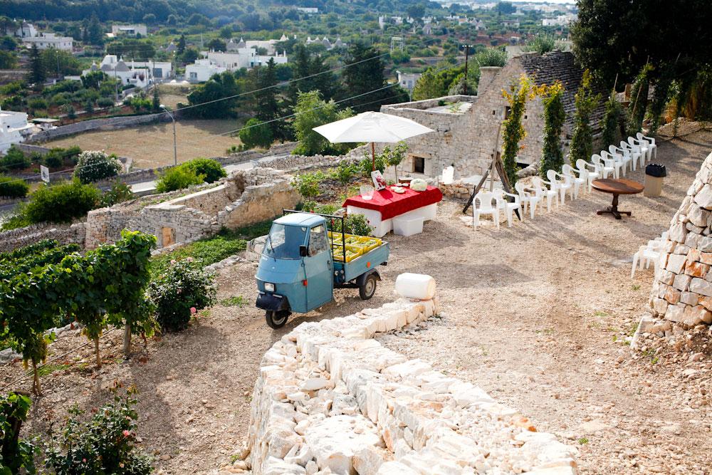 Bufano Sirose winery in Locorotondo