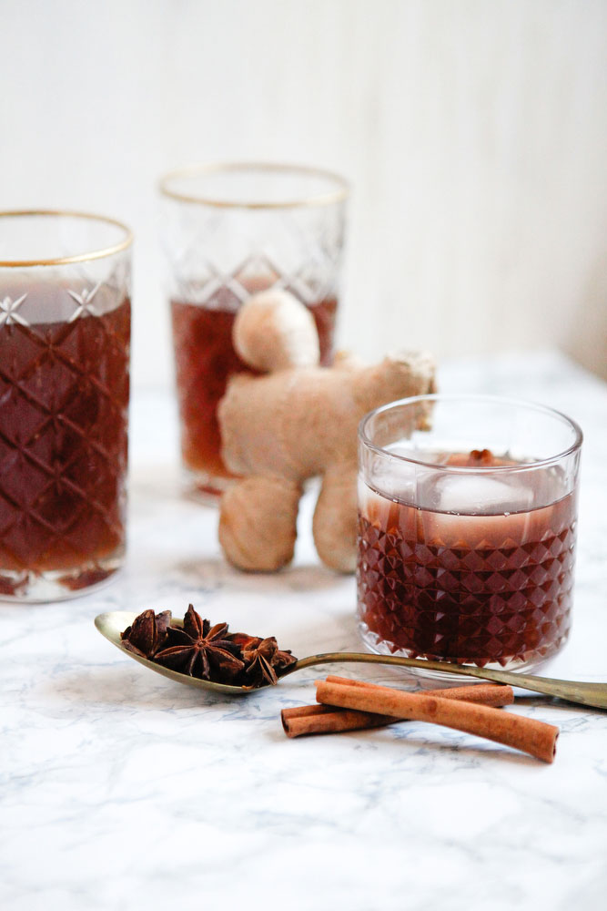 Ginger cinnamon punch   freckleandfair.com