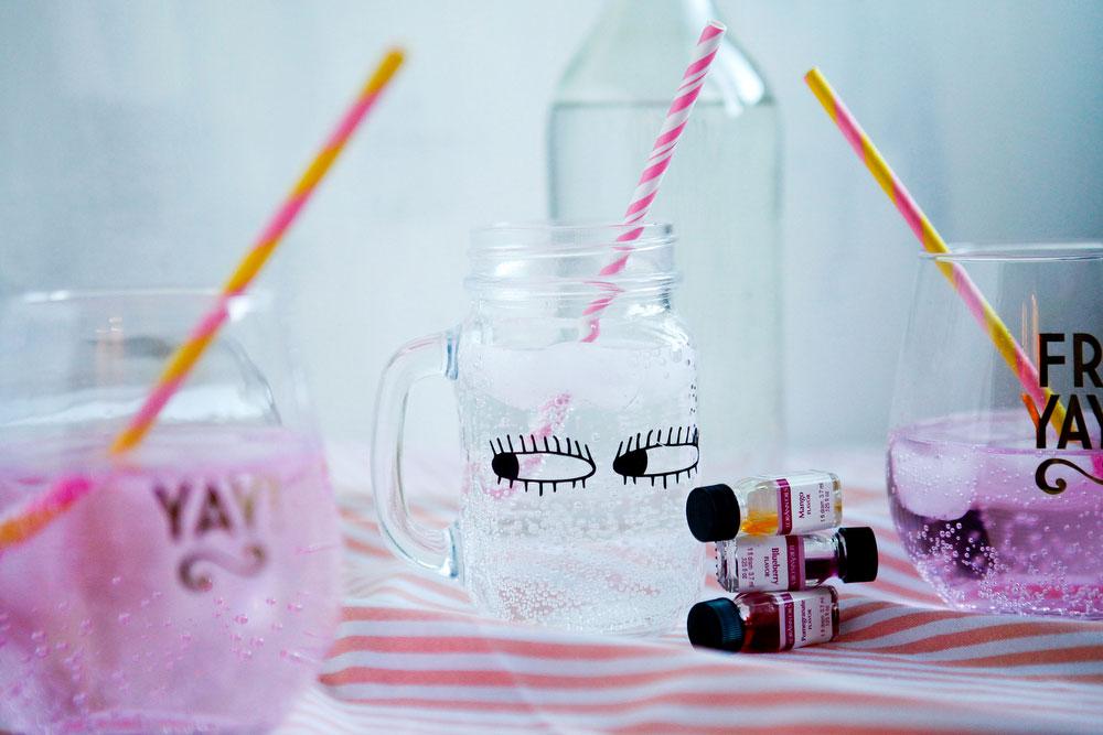 DIY —Make your own LaCroix at home | freckleandfair.com