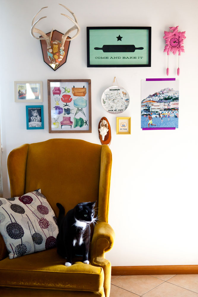 How to hang things on concrete walls | Freckle & Fair