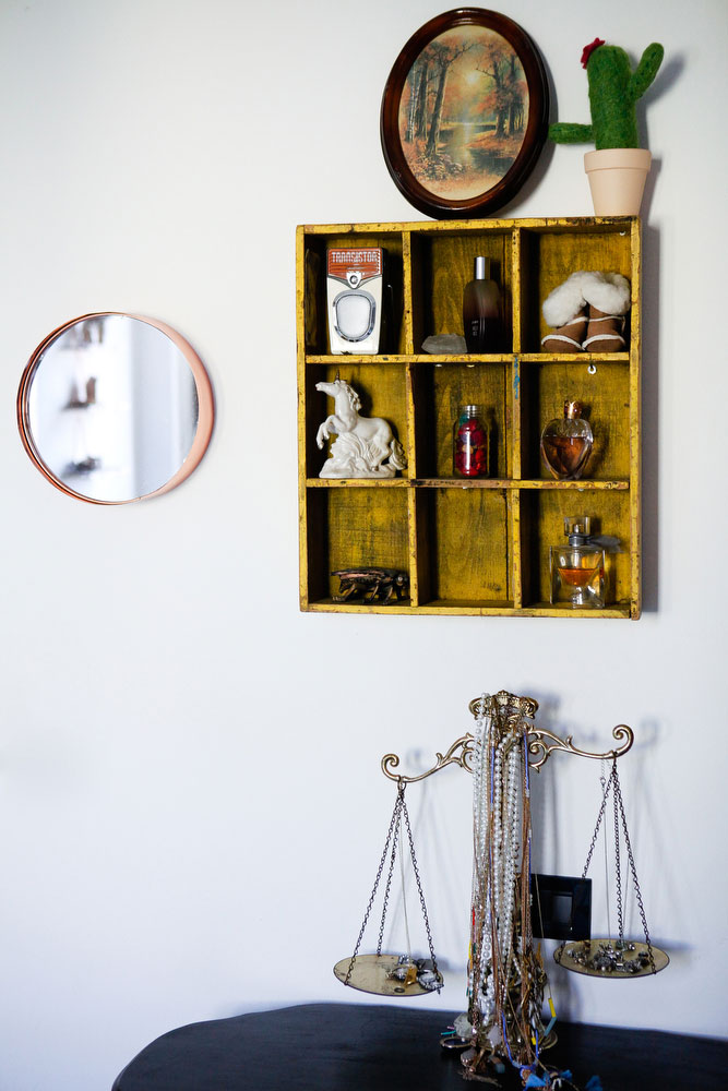 How to hang things on concrete walls | freckleandfair.com