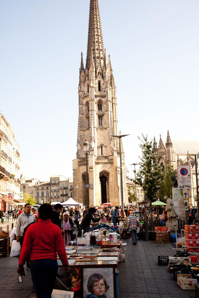 Les Puces de St. Michel in Bordeaux