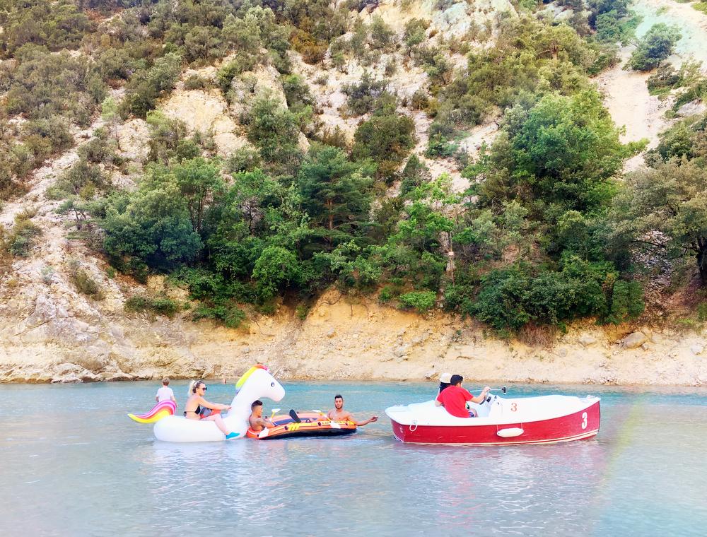 Lac de Sainte-Croix and Verdon Gorge in France   freckleandfair.com