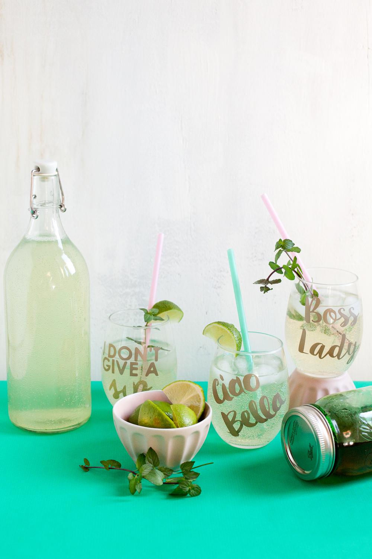 Virgin mojito soda | freckleandfair.com