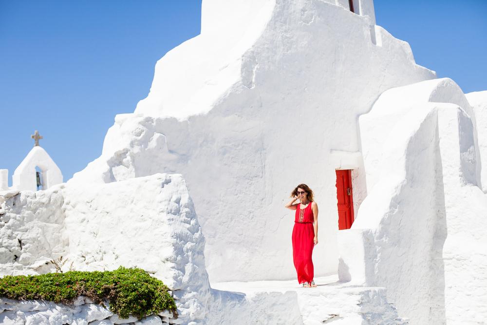 Mykonos, Greece | freckleandfair.com