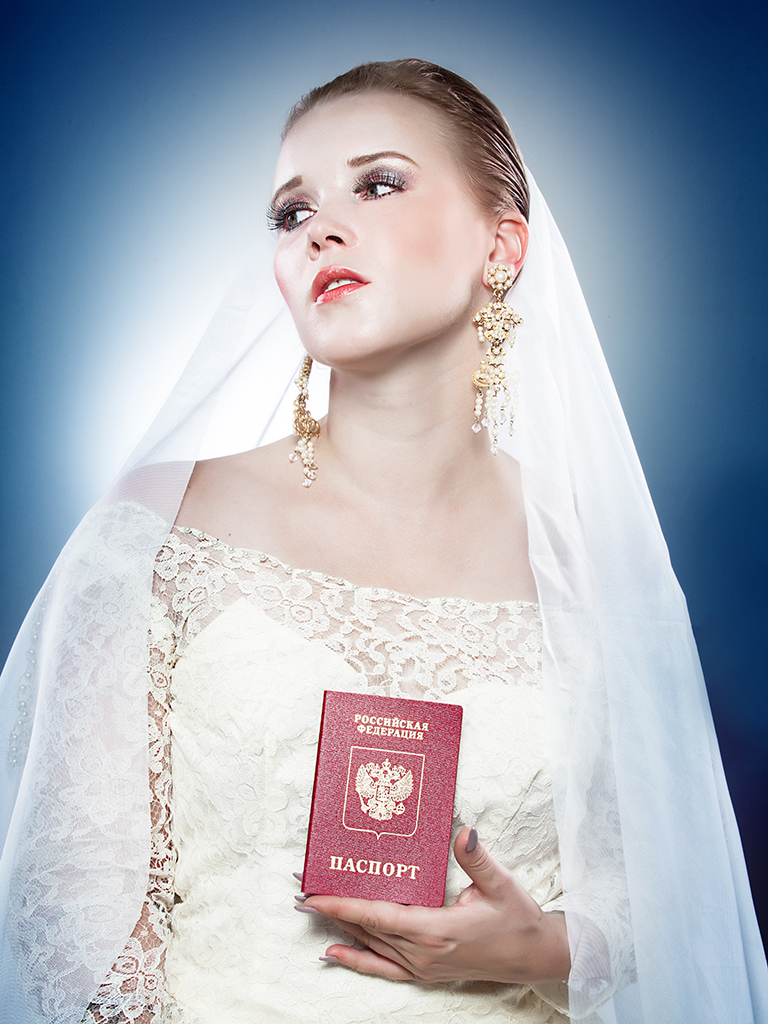 NYET THAT TYPE OF GIRL -  Self Portrait Series on Stereotypes of Russians