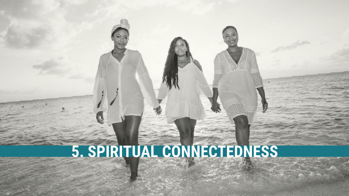Spirited Mamas recognize the empowerment and resiliency that comes from their spirituality. Regardless of their belief system, Spirited Mamas do not neglect their spiritual health. Spirited Mamas understand their connection with the divine is required in order to grow and is a great source of hope and perseverance.