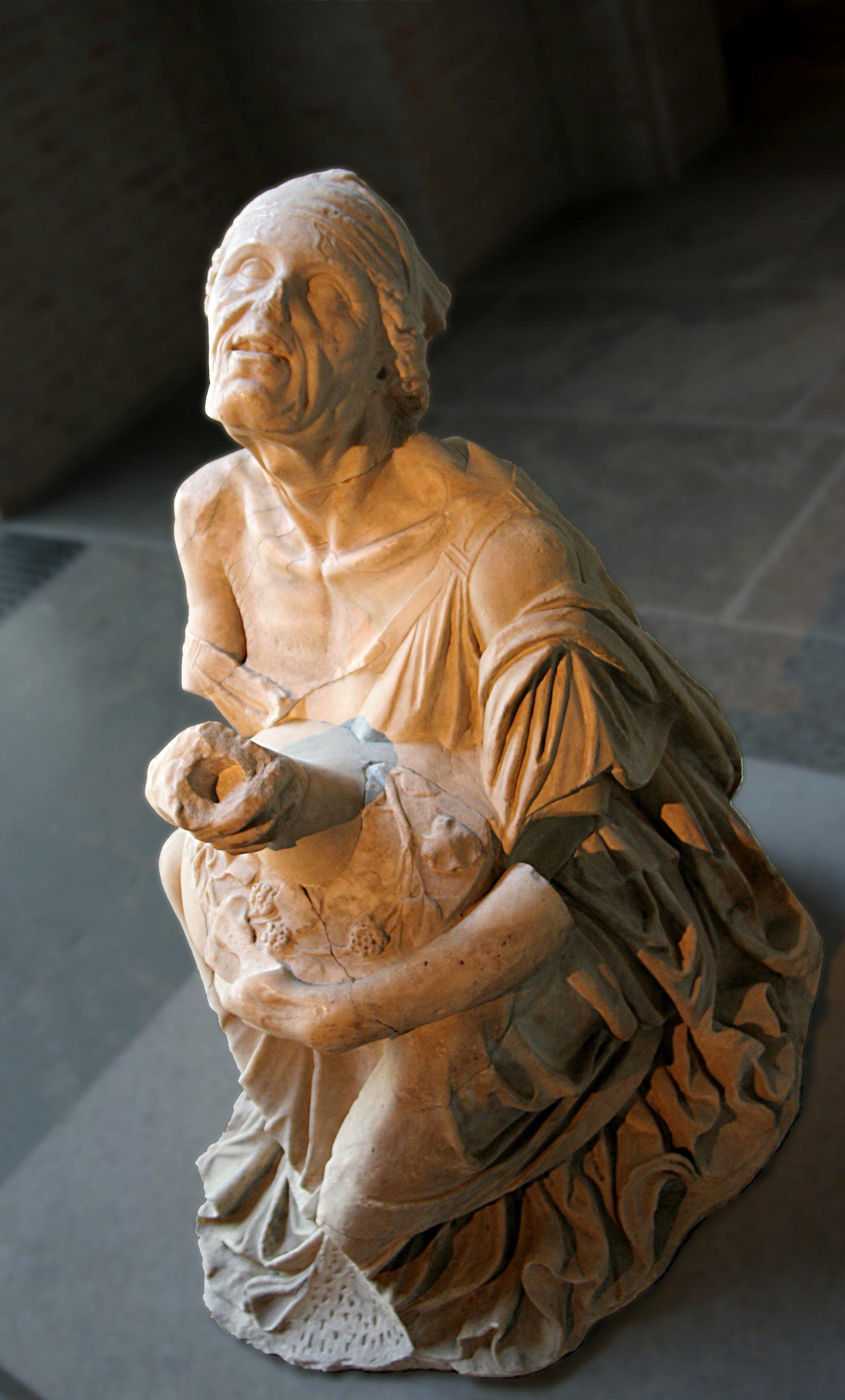 Old drunkard, Glyptothek Munich