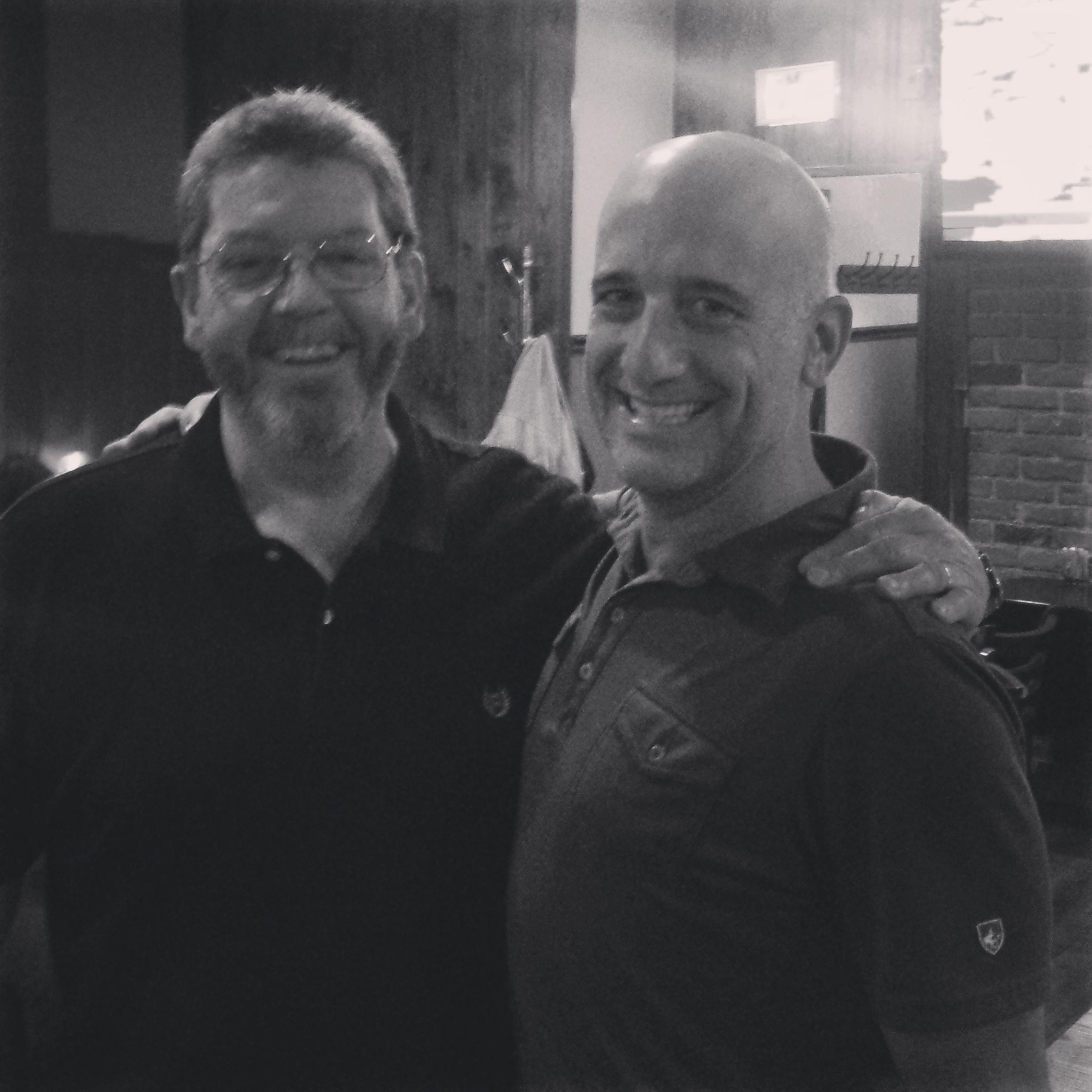 My old bartender, Jim at Gillanes