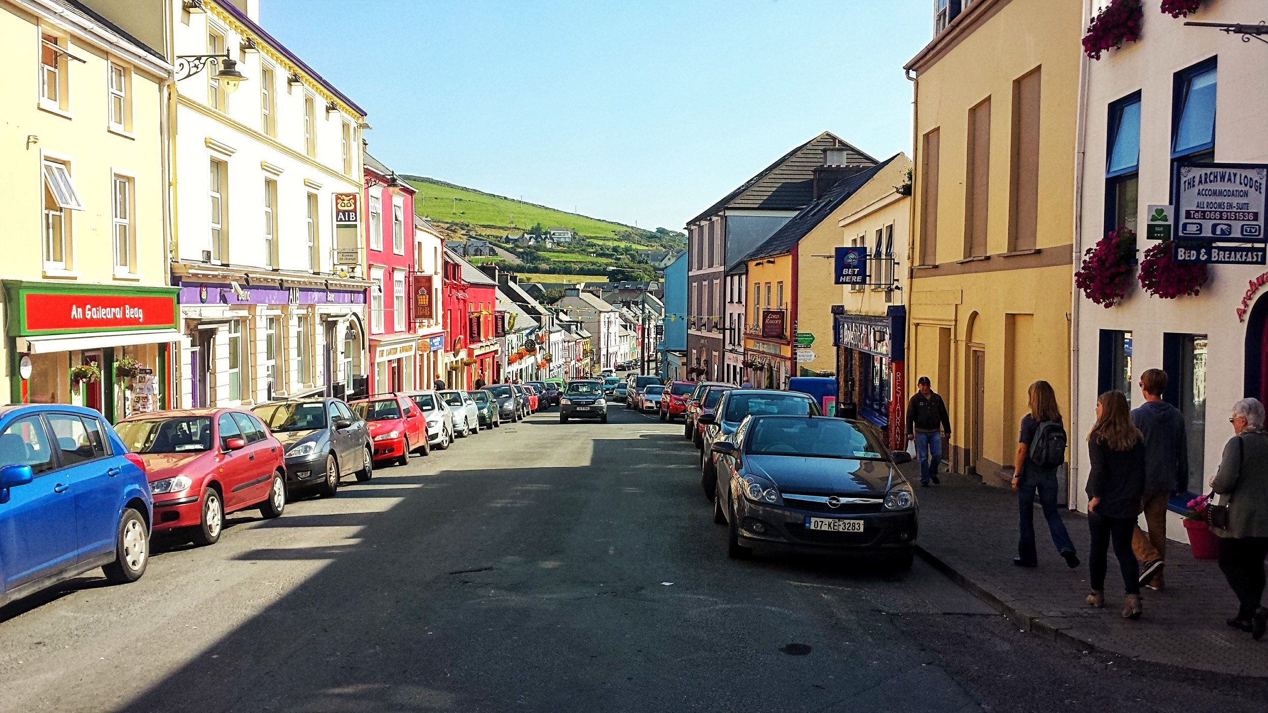 The beautiful town of Dingle