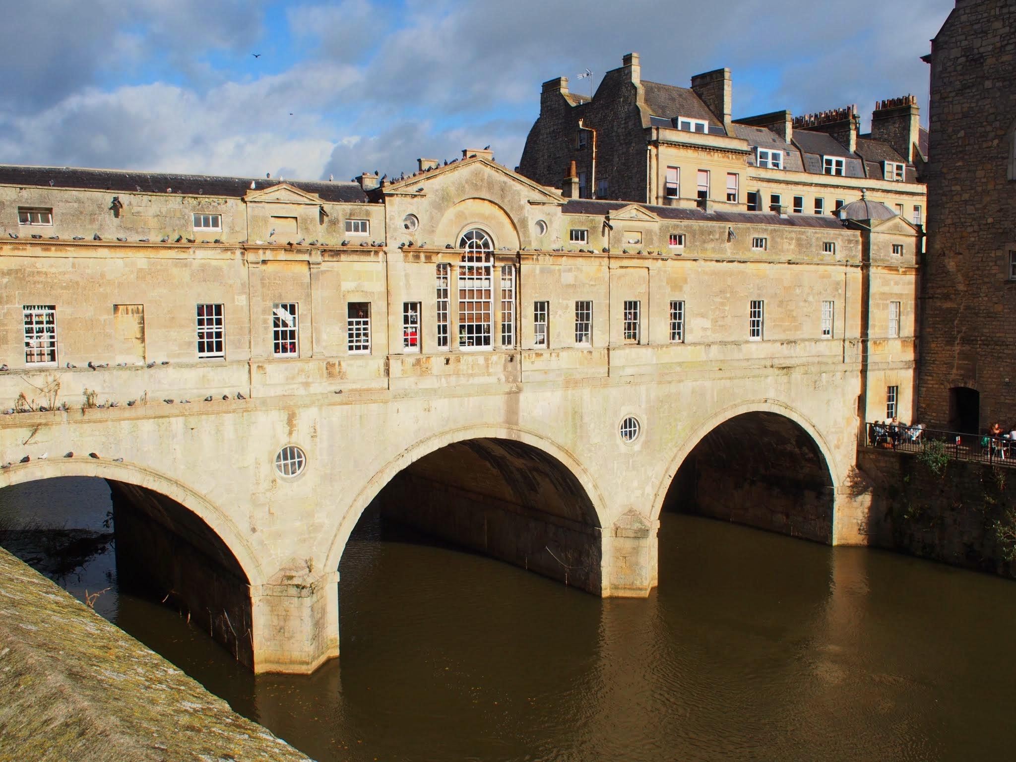 The Pulteney Bridge - Baths version of the Ponte Vecchio