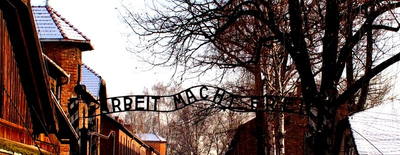 Work will set you free - main gates at Auschwitz