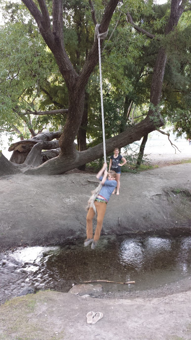 Me on the swing