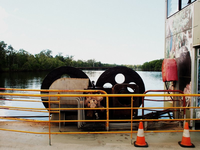 The cable ferry