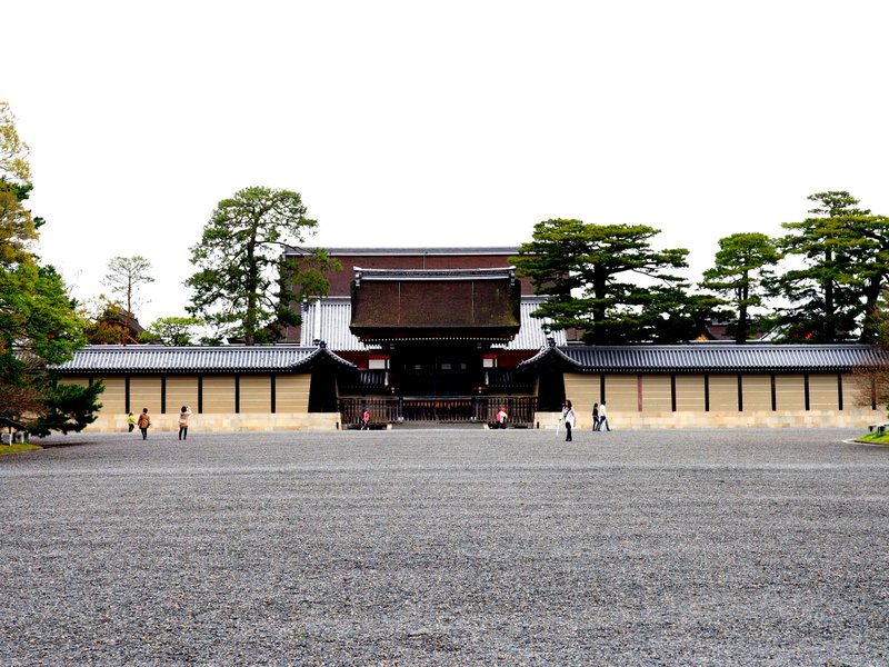 View of the palace from the outside