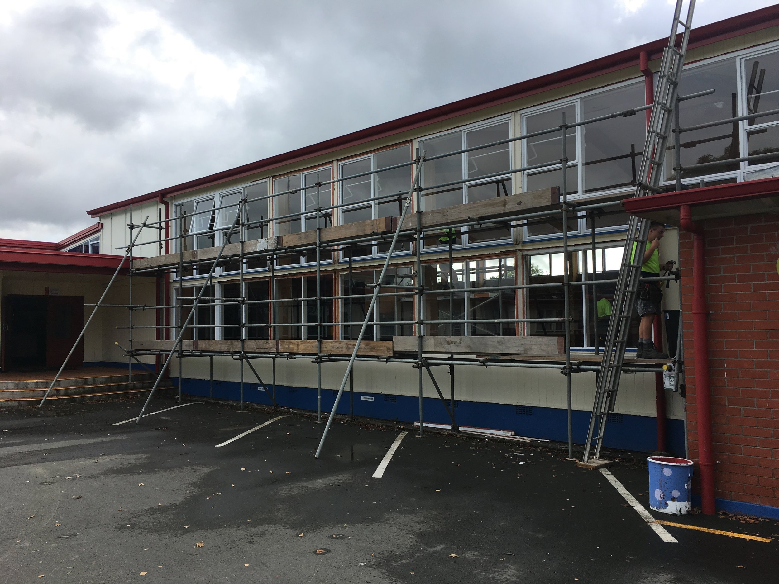 GISBORNE GIRLS HIGH SCHOOL — ASSEMBLY HALL SEISMIC UPGRADE