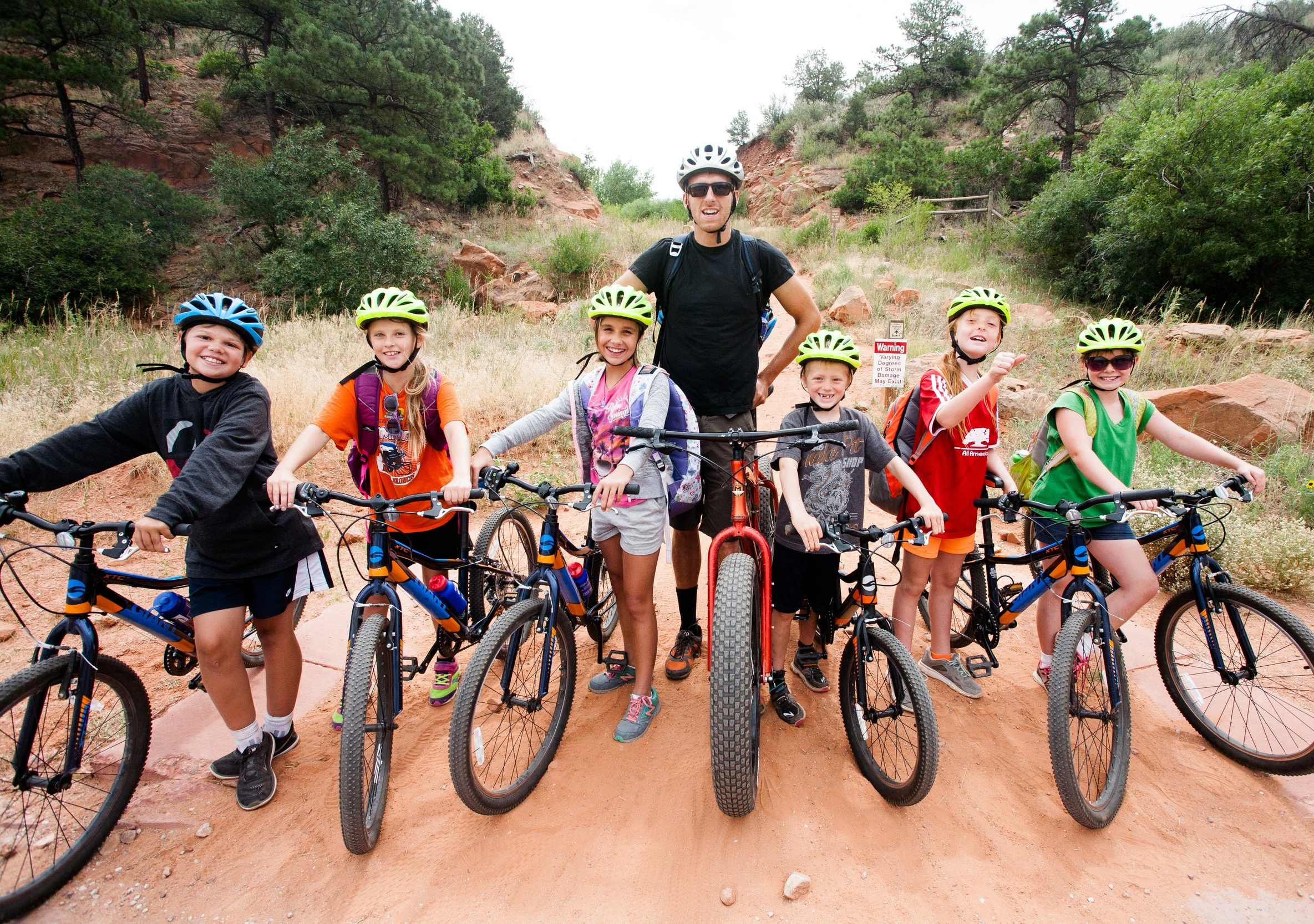 Go West Camps uses biking in its summer day camps and teen leadership programs to promote healthy living, community awareness and skill building.