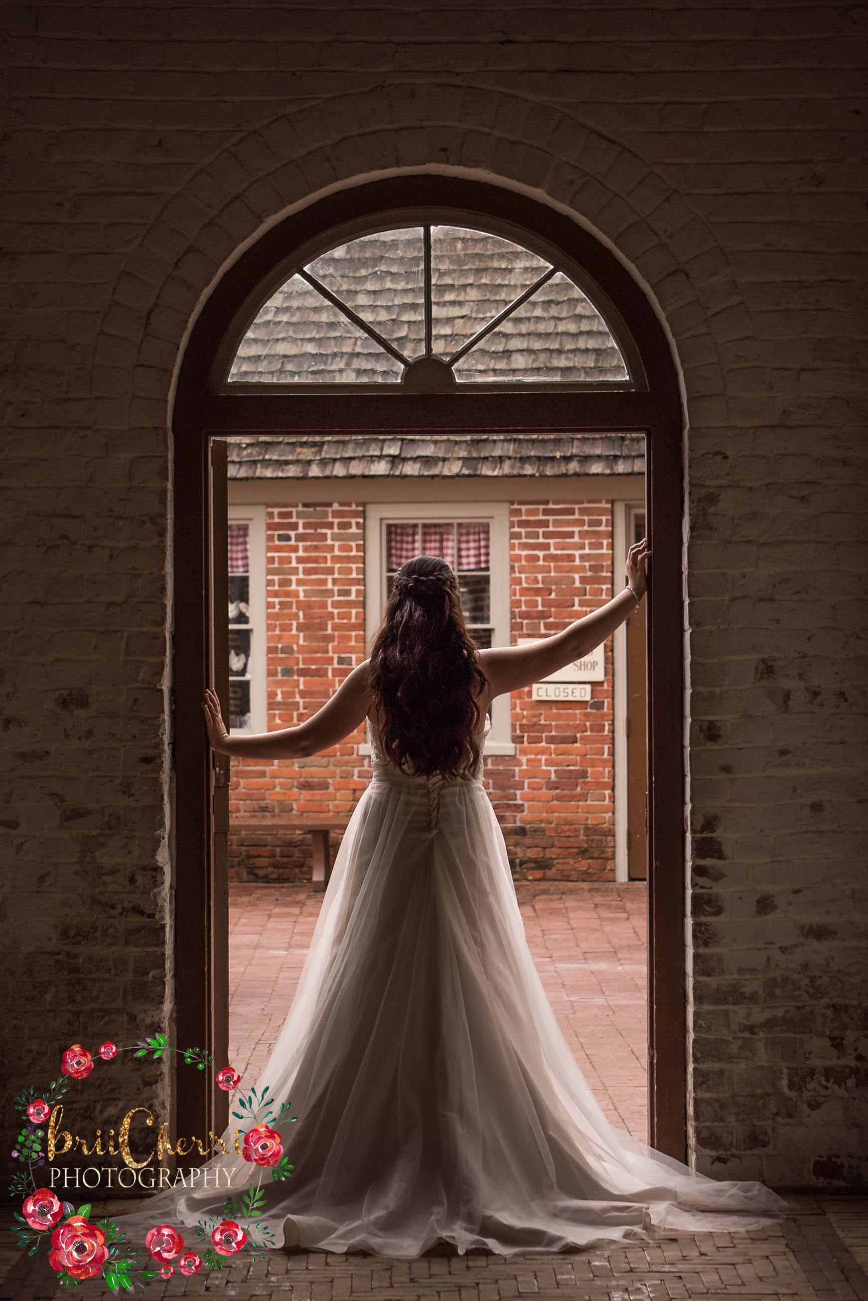 Tyron Palace New Bern NC Wedding Bridals Photography